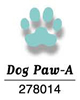 CarlaCraft CP-1N Dog Paw - A