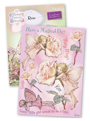 Crafter's Companion - Flower Fairies Rubber Stamp - Rose