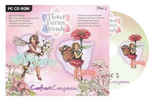 Crafter's Companion - Flower Fairies Disc 3 CD ROM