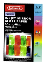 Fullmark Inkjet Mirror Gloss 4R 30 Sheets