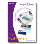 "Purple Cows Kool Pockets 4"" x 6"""