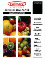 Fullmark Premium Semi Gloss 4R 20 Sheets