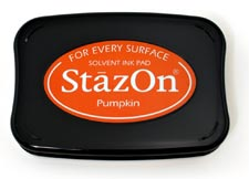 Tsukineko StazOn Ink Pad - Pumpkin