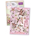 Crafter's Companion - Flower Fairies Rubber Stamp - Wild Cherry