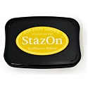 Tsukineko StazOn Ink Pad - Sunflower Yellow