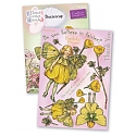 Crafter's Companion - Flower Fairies Rubber Stamp - Buttercup