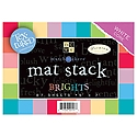 DCWV - MatchMaker Brights Textured Mat Stack 5X7