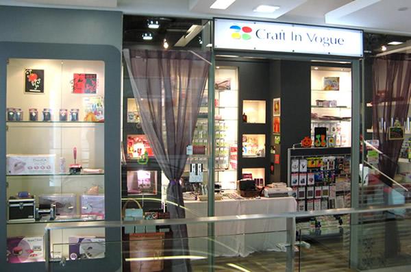 Craft Scrapbook Retail Store In Singapore Craft In Vogue